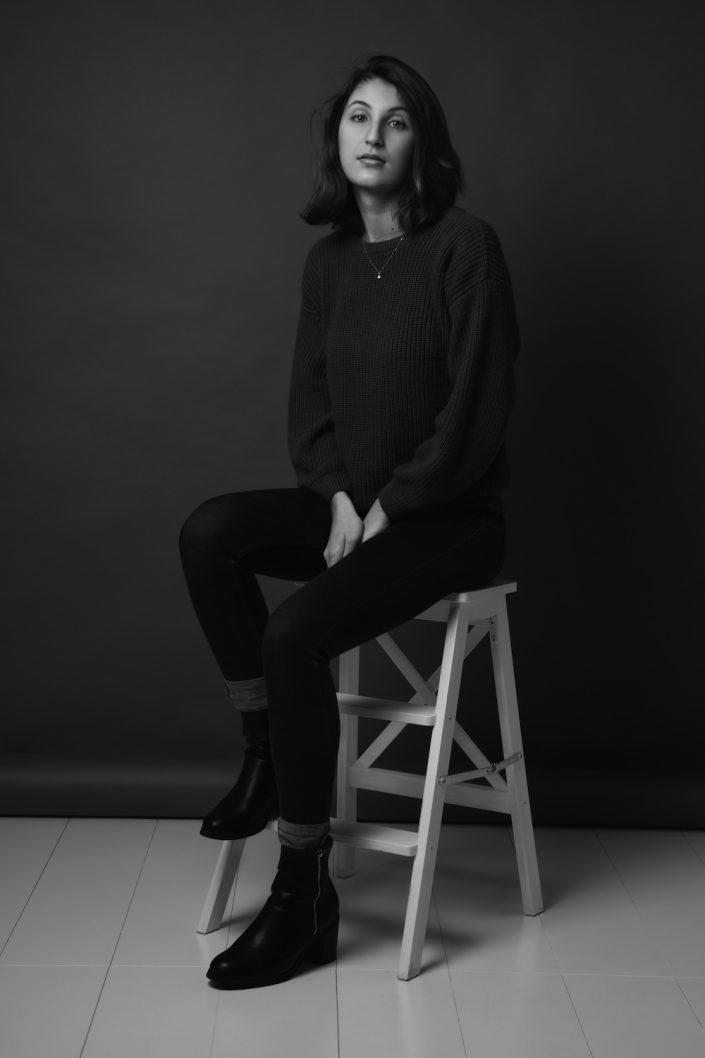 Photographe portrait studio Paris
